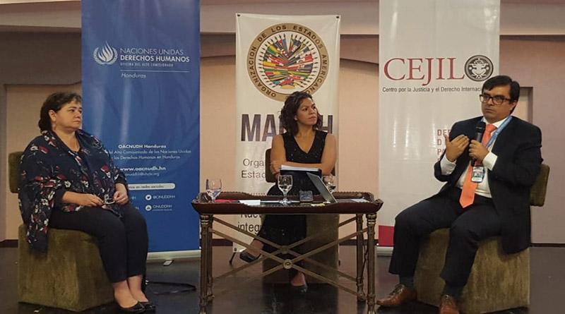 Operadores de justicia analizan desafíos de la investigación de la corrupción y violaciones de derechos humanos en Honduras