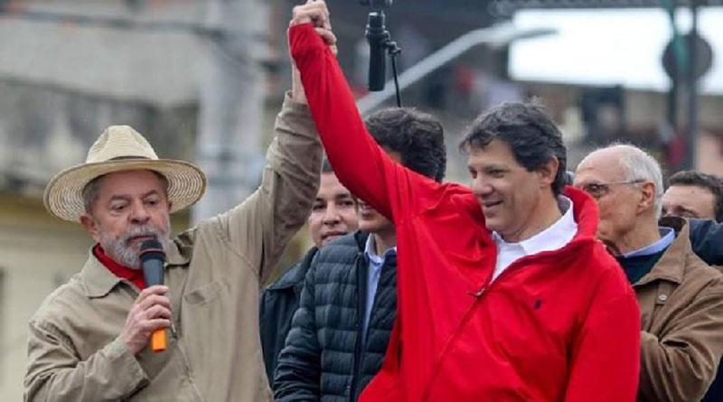 Lula renuncia a la candidatura presidencial y designa a Haddad como sucesor