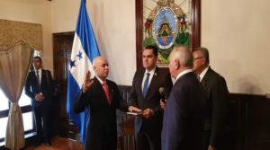 Mauricio Oliva y Oscar Chinchilla