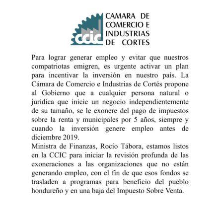 Cámara de Comercio de Cortés