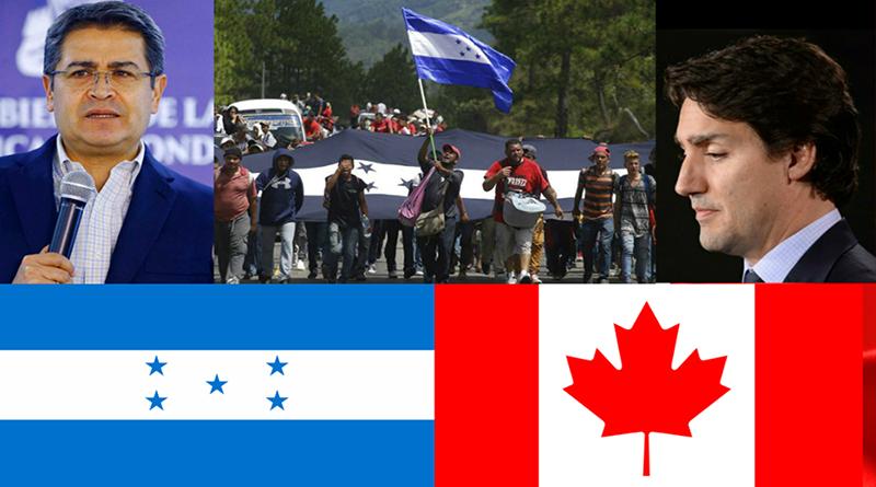 Silencio: gobierno canadiense mudo ante masivo éxodo de hondureños y militarizacion de las fronteras