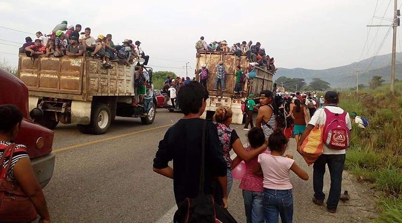 Honduras: suspenden canales mexicanos de sistema de cable para evitar información de la caravana
