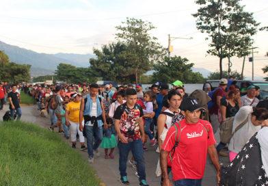 Chiapas espera caravana de migrantes hondureños