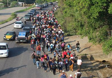 Caravana de migrantes no amenaza la seguridad de México: Amnistía Internacional