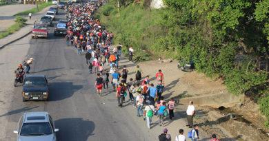 Caravana de migrantes refleja crisis humanitaria que vive Honduras: Ciprodeh