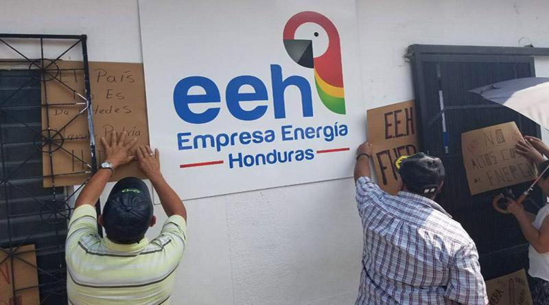 EEH deuda ENEE Honduras