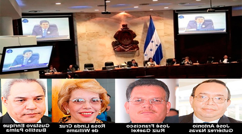 CIDH acepta denuncia de magistrados destituidos por declarar inconstitucional Ley Especial de Depuración Policial