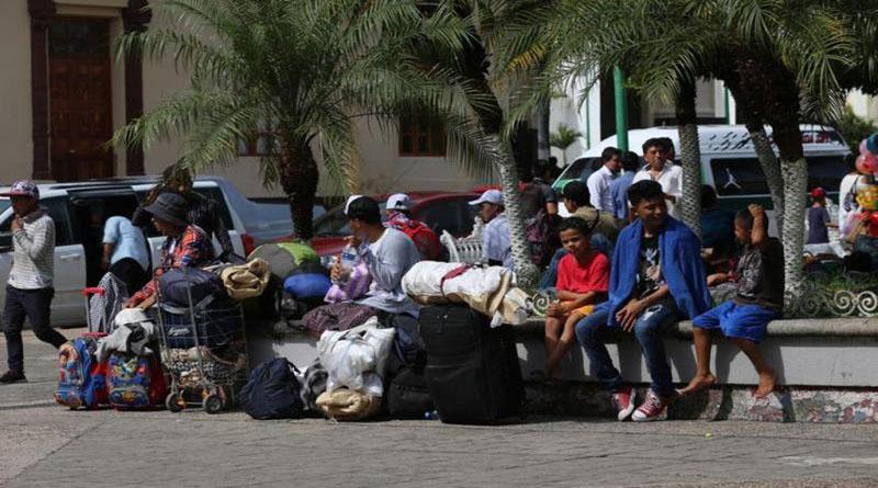 ¿Se preguntan cómo se organiza el éxodo hondureño, quién está detrás?