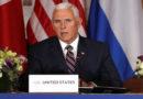 Migración de hondureños hacia EE.UU. creció en un 61 % en el último año, según Mike Pence