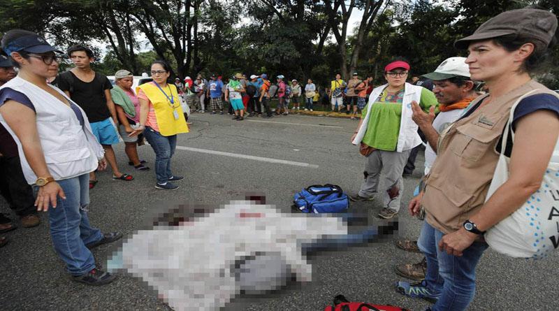 Muere migrante hondureño