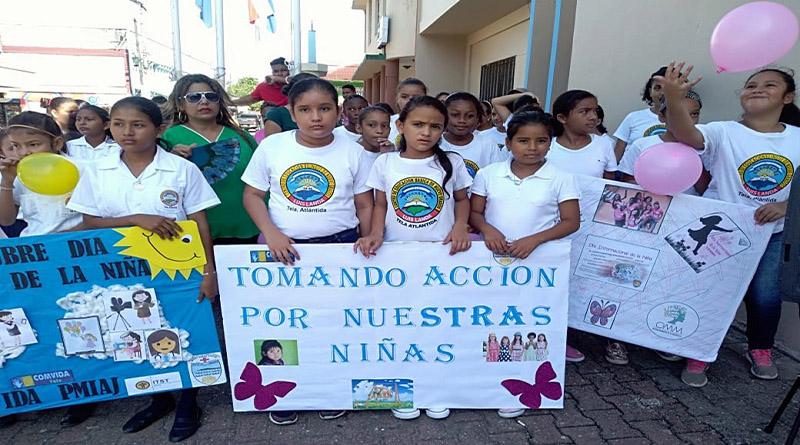 Honduras conmemora el día de la niña con un alza en las deportaciones de niñas y adolescentes