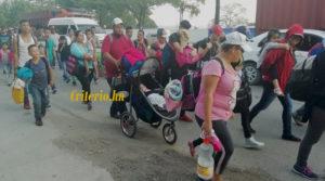 Huyendo de Honduras