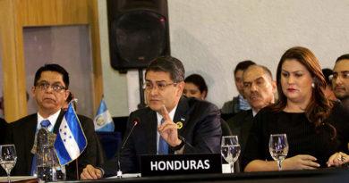 El cambio climático genera migración en Honduras, según Hernández