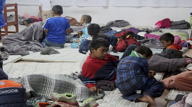 migración infantil en Honduras
