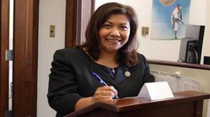 Congresista Norma Torres a Honduras