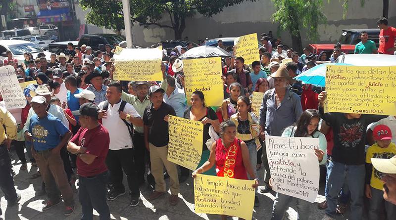 Pobladores de Reitoca exigen al Ministerio Público explique favoritismo hacia empresa