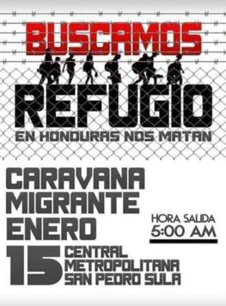 Hondureños organizan nueva caravana