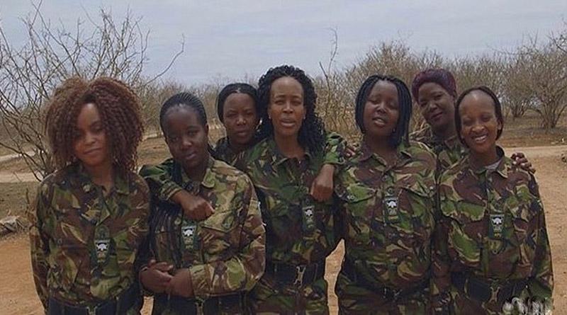 Mujeres africanas se unen y patean el trasero a los cazadores de rinocerontes