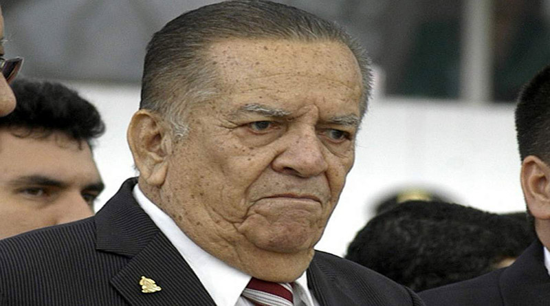 Muere expresidente de Honduras Roberto Suazo Córdova