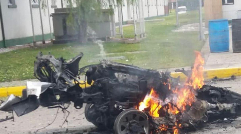 coche bomba en Bogotá