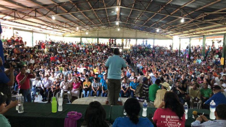 Tocoa, Colón dice no a la minería