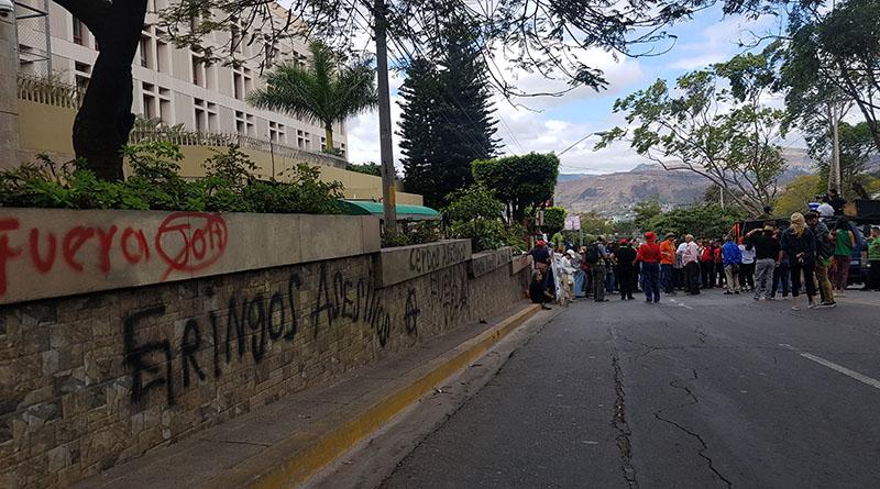 narco dictadura de Juan Hernández.