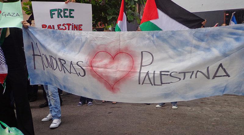 palestinos en Honduras