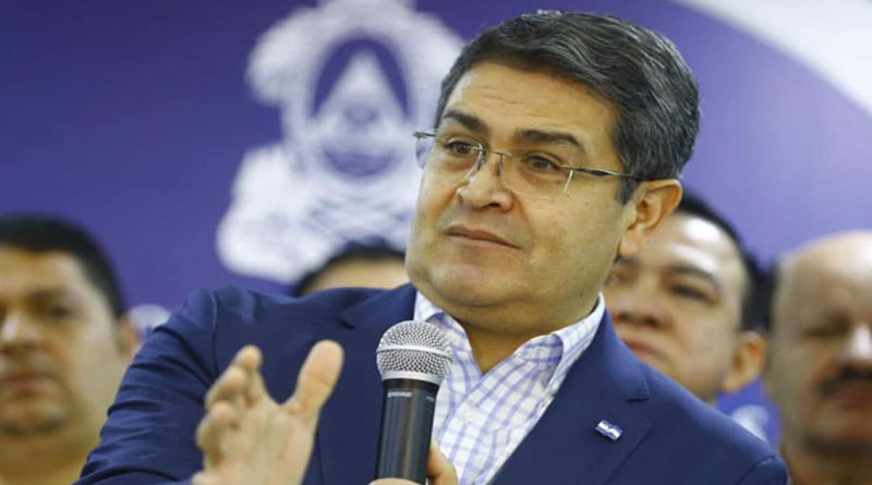 Juicio político a presidente de Honduras