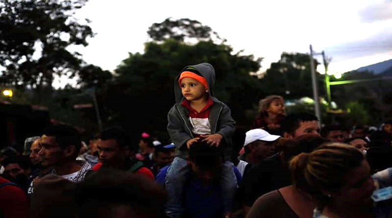 México abre sus brazos a migrantes hondureños