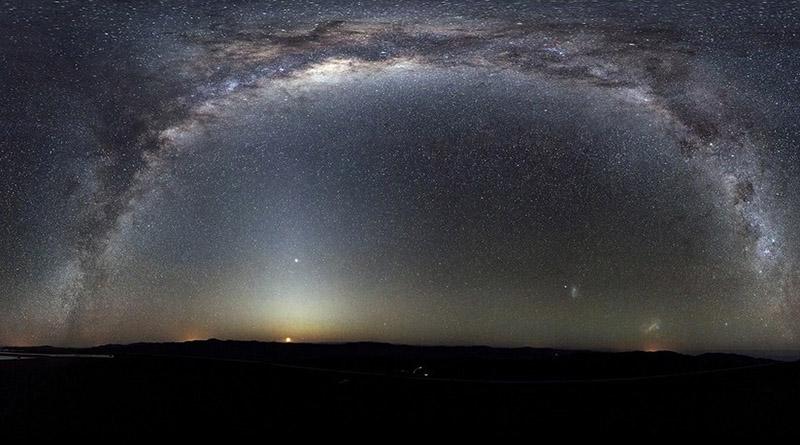 Galaxia que se aproxima a la Vía Láctea podría acabar con la Tierra