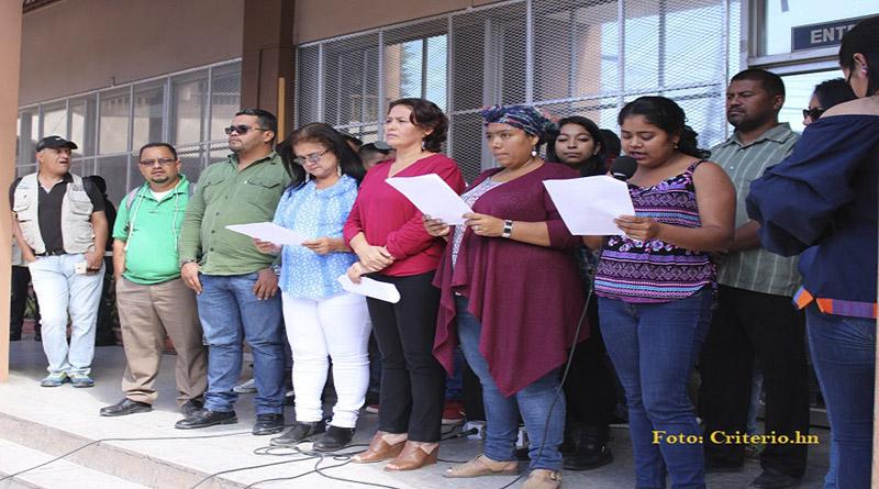 Defensores de Tocoa, Colón denuncian campaña de desprestigio y acoso