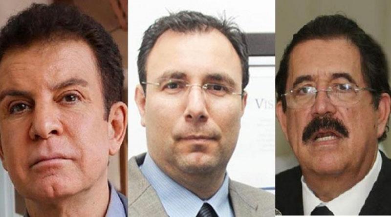 Los líderes políticos hondureños