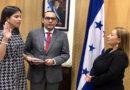 Hija de Mauricio Oliva juramentada como directora del Banco Central de Honduras