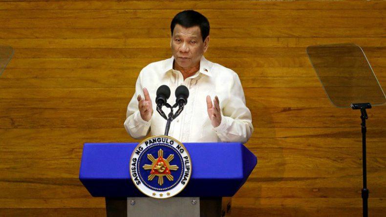 Iglesia Católica desaparecerá en 25 años: Presidente de Filipinas
