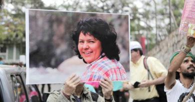 Hoy es la audiencia contra David Castillo por el asesinato de Berta Cáceres