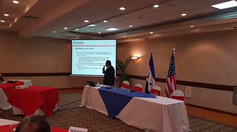 víctimas de trata en Honduras