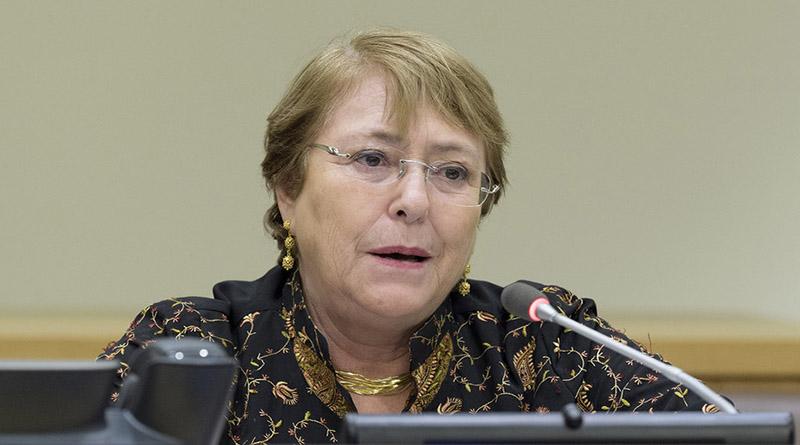 Bachelet alarmada