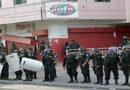 Rodeada de policías y con calles cerradas amanece Radio Globo
