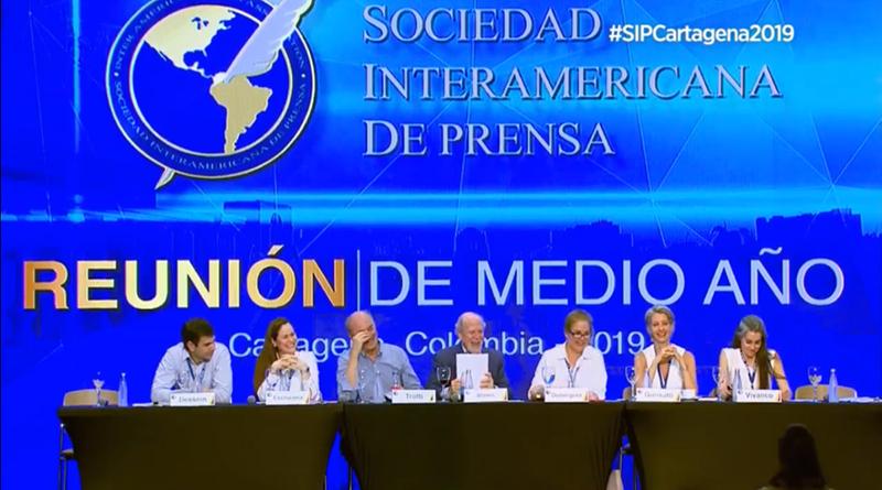 SIP exige libertad de los periodistas Miguel Mora y Lucía Pineda en Nicaragua