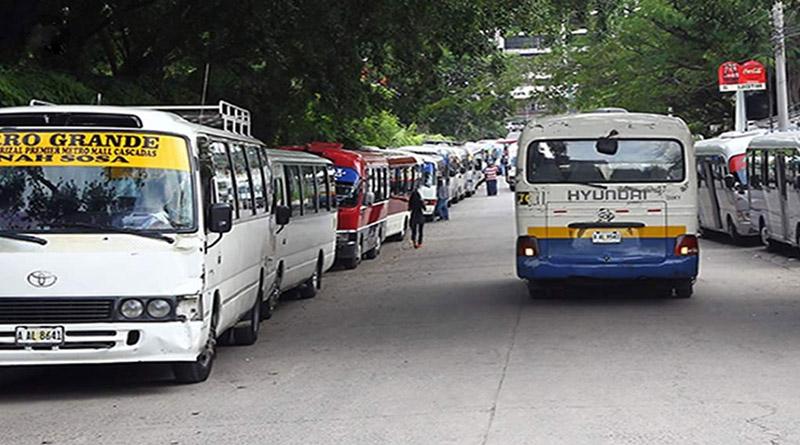 Protesta de buses rapiditos