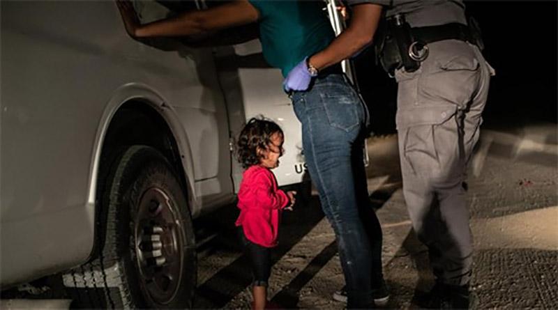Foto de niña hondureña llorando gana premio mundial