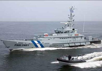 Miembros de la Fuerza Naval de Honduras ayudaba con el transporte de la droga