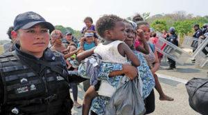 Redada de migrantes