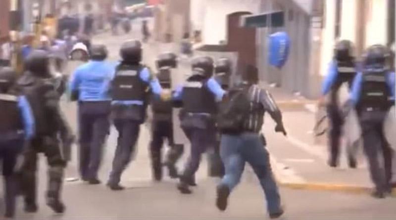 Nadie exige explicación sobre civiles que dispararon contra manifestantes