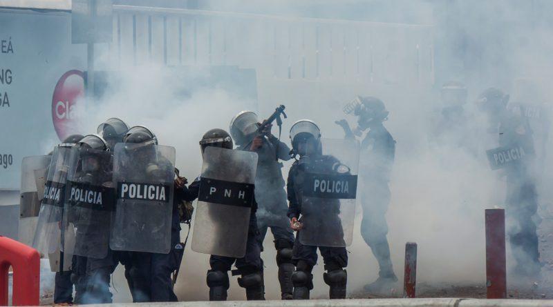 manifestaciones en Honduras