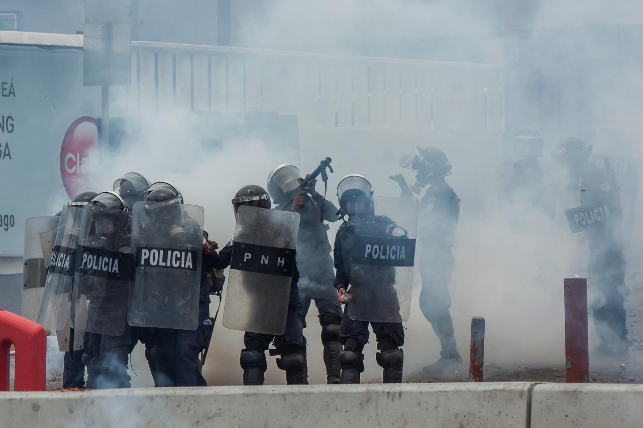 OACNUDH señala el uso de armas de fuego por parte de las fuerzas de seguridad durante manifestaciones en Honduras