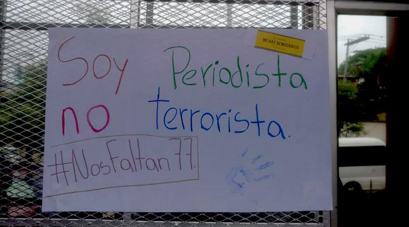 libertad de expresión Honduras