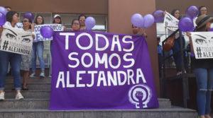 exigen justicia para Alejandra