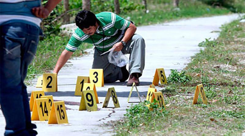 muertes violentas en Honduras