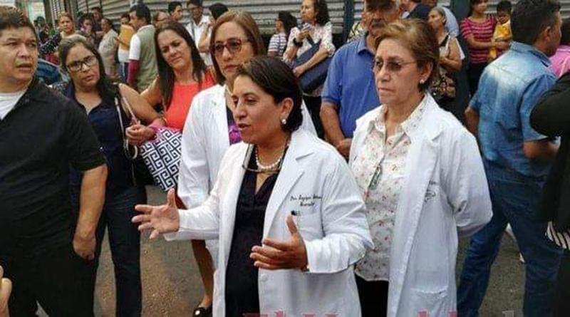 Presidenta del Colegio Médico de Honduras